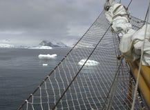 南极洲航行 免版税库存照片