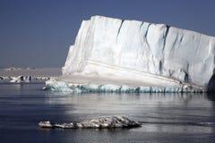 南极洲- Weddell海运冰山 免版税库存照片
