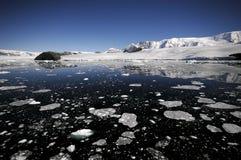 南极海岸 免版税库存图片
