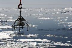 南极海洋研究 图库摄影
