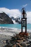 南极纪念碑 免版税库存照片