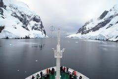 南极远征船 图库摄影