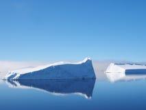 南极洲冰山风景 库存照片