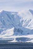 南极洲-结冰的风景 免版税库存图片