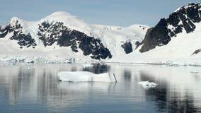 南极洲在一个晴天 影视素材