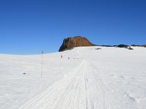 南极洲城堡海岛岩石罗斯 免版税库存图片