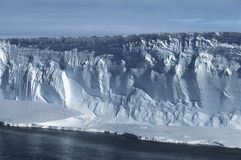南极洲威德尔海冰山 库存照片