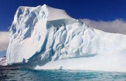 南极洲巨大的冰山 库存图片