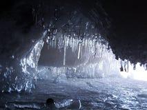 南极洲水晶冰被采取的照片架子 免版税库存图片