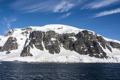 南极洲-童话风景 库存图片