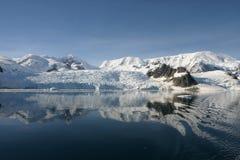 南极洲美好的横向 免版税库存图片