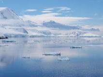 南极洲Neumayer海峡 免版税库存图片