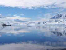 南极洲Neumayer海峡 库存图片