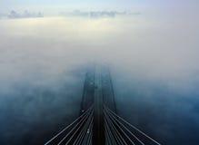 南桥梁,基辅 库存图片