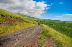 南毛伊,夏威夷的海岛美好的风景  免版税图库摄影
