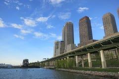 南河沿的公园 库存照片
