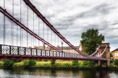 南波特兰街桥梁 免版税库存照片