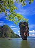 南泰国的海 库存照片