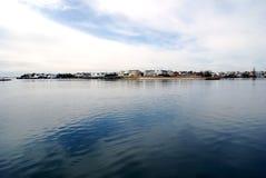 南海岛长的岸 库存图片