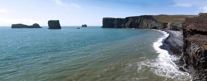 南海岸,冰岛 免版税库存图片