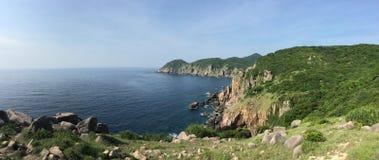 南海海岸线在岘港 库存图片