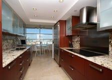 南海滩的厨房 免版税库存照片