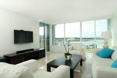 南海滩的客厅 免版税库存照片