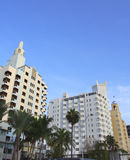 南海滩的delano 库存图片