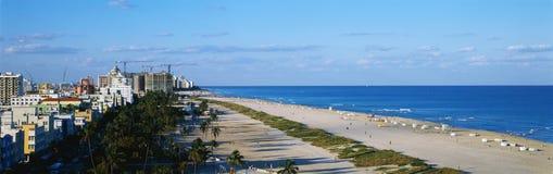 南海滩迈阿密 免版税库存照片