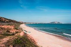 南海的海岸 免版税图库摄影