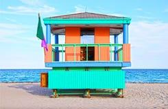 南海滩迈阿密 图库摄影