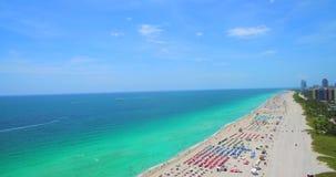 南海滩,迈阿密海滩 佛罗里达 美国 股票录像