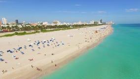 南海滩,迈阿密海滩 佛罗里达 股票录像