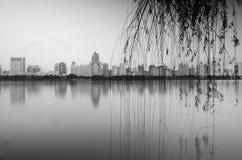 南湖公园 免版税库存照片