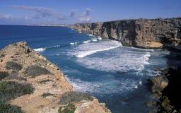 南澳大利亚峭壁 免版税图库摄影