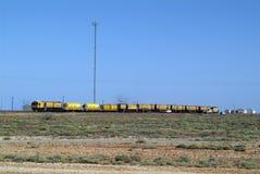 南澳大利亚,铁路 免版税库存图片