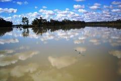 南澳洲的墨累河 库存照片