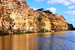 南澳洲的墨累河 图库摄影