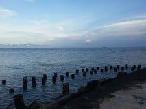 南爪哇海 库存图片