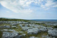 南爱尔兰风景 免版税库存图片