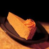 南瓜乳酪蛋糕 库存照片