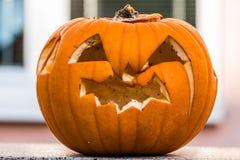 南瓜几天在假日以后helloween 免版税库存图片