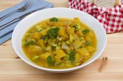 南瓜炖煮的食物 图库摄影