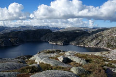 南的挪威 免版税库存图片