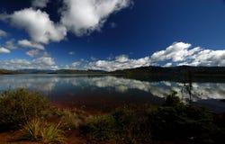 南的湖 免版税库存照片