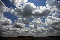 南的达可它skys3 免版税库存图片