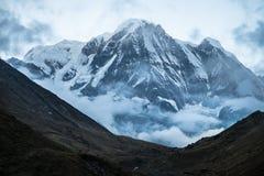 南的Annapurna 免版税图库摄影