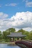南美丽的韩国的宫殿s 图库摄影
