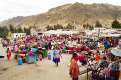 南美国厄瓜多尔的市场 库存照片