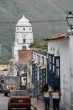 南美委内瑞拉特鲁希略角镇 免版税图库摄影